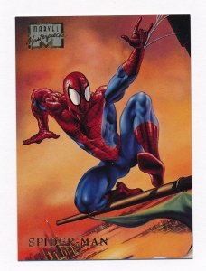 1996 Marvel Masterpieces #45 Spider-Man