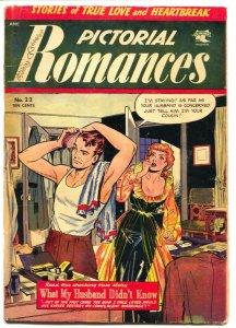 PICTORIAL CONFESSIONS #22-1953-ST JOHN-GOOD GIRL ART-MATT BAKER