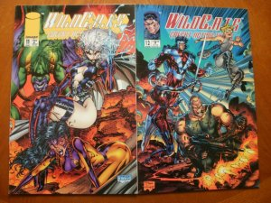 2 Near-Mint Image WILDCATS: COVERT ACTION TEAMS #11 #12 (1994) Lee Claremont