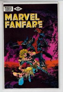 MARVEL FANFARE (1982 MARVEL) #2 VF/NM A08150