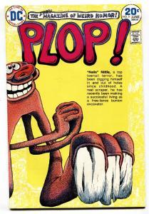 Plop! #5 1974- DC Weird Humor- Basil Wolverton- VF/NM