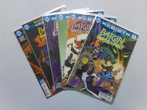 Batgirl and the Birds of Prey, 6 Different Variants, 8.0/VF (2016)