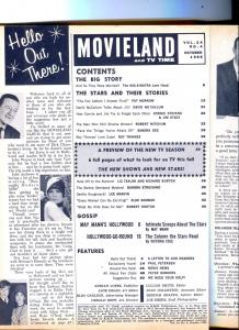 Movieland And TV Time-Robert Mitchum-Connie Stevens-Oct-1966