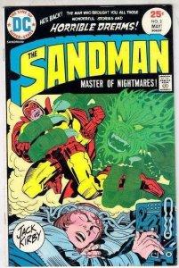 Sandman 2 strict VF/NM+ 1975 Jack Kirby High-Grade Wythville Books @ Kermitspad!