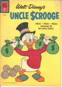 UNCLE SCROOGE 34 VG   August 1961 COMICS BOOK