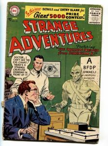 Strange Adventures #74 1957- Invader from Dimension X- DC Silver Age