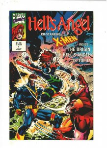 Hell's Angel #1 NM- 9.2 Marvel UK Comics 1992 X-Men app.