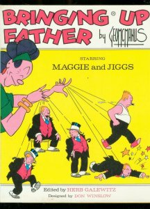 BRINGING UP FATHER-HARDCOVER-1973-GEORGE MCMANUS-JIGGS FN