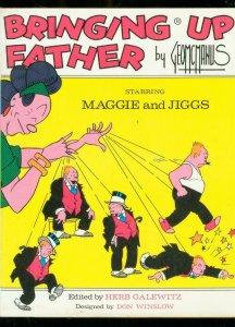 BRINGING UP FATHER-HARDCOVER-1973-GEORGE MCMANUS-JIGGS FN