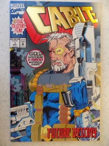 CABLE # 1 GOLD FOIL COVER FIRST PRINT