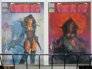 STRONTIUM BITCH (FT/Q) 1-2 Bounty Hunter & Vampire