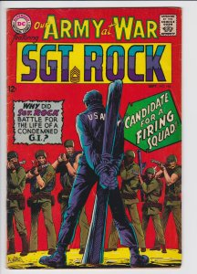 Our Army at War #184 (Sept 1967) 5.0 VG- DC Wee Willie Dies