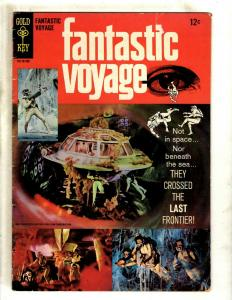 Fantastic Voyages FN Gold Key Silver Age Comic Book 1966 Photo Cover Sea J371