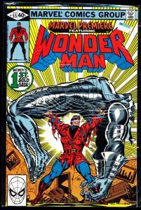 Marvel Premiere Featuring Wonder Man 1st Solo Saga #55 VF/NM (SIC519)