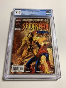 Amazing Spider-man 440 Cgc 9.8 White Pages Marvel 004