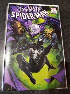 SYMBIOTE SPIDER-MAN #1 CLAYTON CRAIN VARIANT W/COA