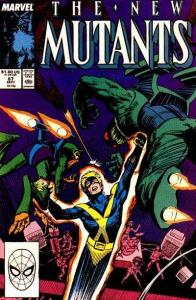 New Mutants (1983 series) #67, VF- (Stock photo)