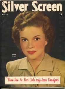 Silver Screen-Shirley Temple-Esther Williams-Jane Greer-Mar-1949