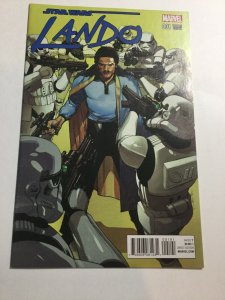 Star Wars Lando 1 Yu Variant Nm Near Mint Marvel Comics