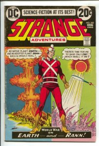 Strange Adventures #242-1973-DC-atomic explosion cover-world war-VG