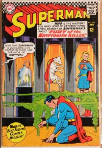 Superman #195 (1967) Very Good+ 4.5
