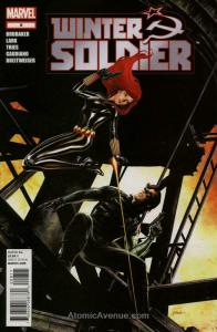 Winter Soldier #8 FN; Marvel   save on shipping - details inside