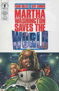 Martha Washington Saves the World #1 VF/NM; Dark Horse | save on shipping - deta