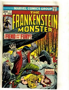 Monster Of Frankenstein # 7 VF/NM Marvel Comic Book Mike Ploog Cover Horror RS1