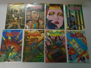 Shatter set #1-14 + Special 15 different issues 8.0 VF (1985)