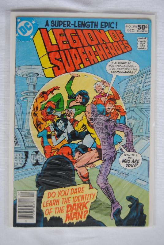 Legion of Super-Heroes 270