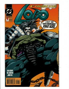 12 Lobo DC Comics # 1 2 3 4 5 6 7 8 9 0 10 11 Repent or be Fragged J430