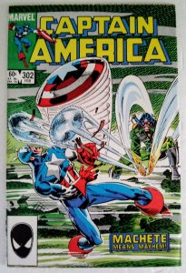 CAPTAIN AMERICA #302 Marvel Comics ID#MBX2