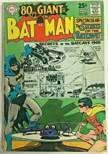 BATMAN#203 VG/FN 1968  EIGHTY PAGE GIANT DC SILVER AGE COMICS