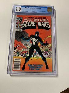 Marvel Super Heroes Secret Wars 8 Cgc 9.0 White Pages Newsstand Edition