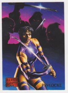 1995 Marvel Masterpieces #76 Psylocke