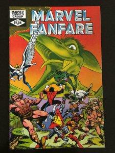 MARVEL FANFARE #3, NM, X-men, Wolverine, Claremont,1982 more Marvel in store