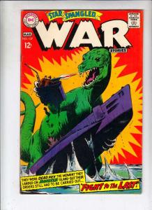 Star Spangled War Stories #137 (Mar-68) VG/FN+ Mid-Grade Dinosaur