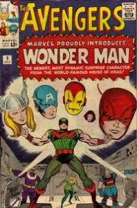 Marvel Comics The Avengers #9 1st Wonder Man VG