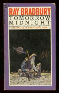 TOMORROW MIDNIGHT PAPERBACK 1966-1st PRINT-EC--FRAZETTA VG/FN
