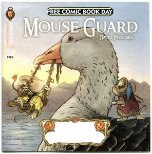 MOUSE GUARD / RUST, VF+, Petersen, Royden Lepp, FCBD, 2013, more items in store