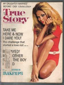 True Story 6/1972-exploitation-scandal-pin-up girl cover-VG
