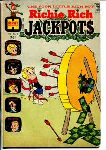 Richie Rich Jackpots #3 1968-Harvey-Litle Dot-VG