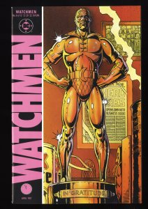 Watchmen #8 FN/VF 7.0 Death of the Original Nite Owl!