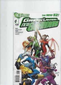 Green Lantern New Guardians #1
