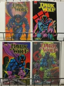 DARK WOLF (1987 MALIBU) 1-4  complete series