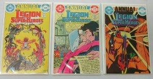 Legion of Super Heroes ANN:#1-3 8.0 VF (1982-84)