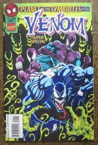 VENOM SUPER SPECIAL #1 (Marvel, 1995): Planet of The Symbiotes part 3 of 5 FINE