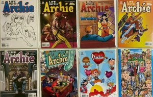 Archie variant From:#21-32  different 8.0 VF (2012+13)