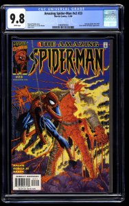 Amazing Spider-Man (1999) #23 CGC NM/M 9.8 White Pages