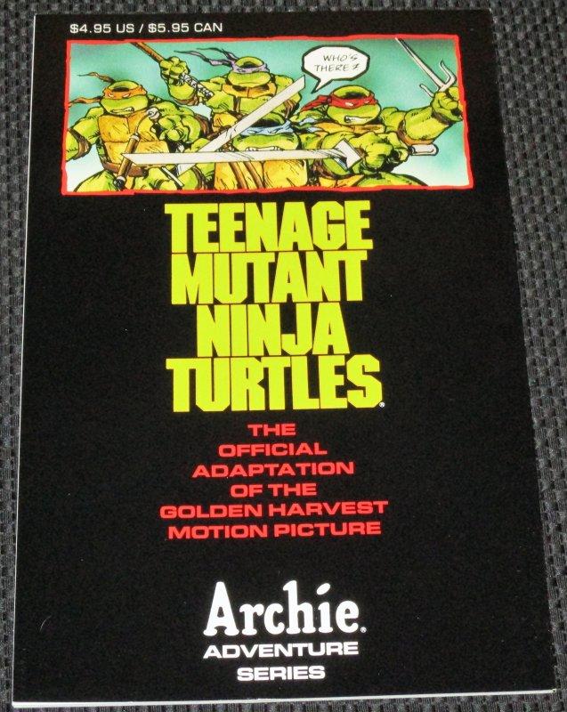 Teenage Mutant Ninja Turtles Adventures #1 (1990) Novel